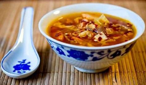 ricetta cinese zuppa agropiccante blog riseup