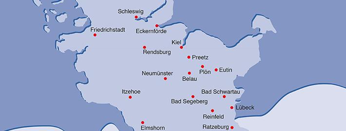 In diesen Städten finden Sie in Schleswig-Holstein Rudervereine