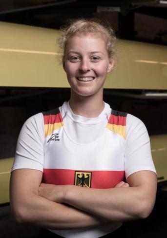 Emma Appel (Ratzeburger Ruderclub/Sportinternat Ratzeburg). Foto: DRV/Schwier