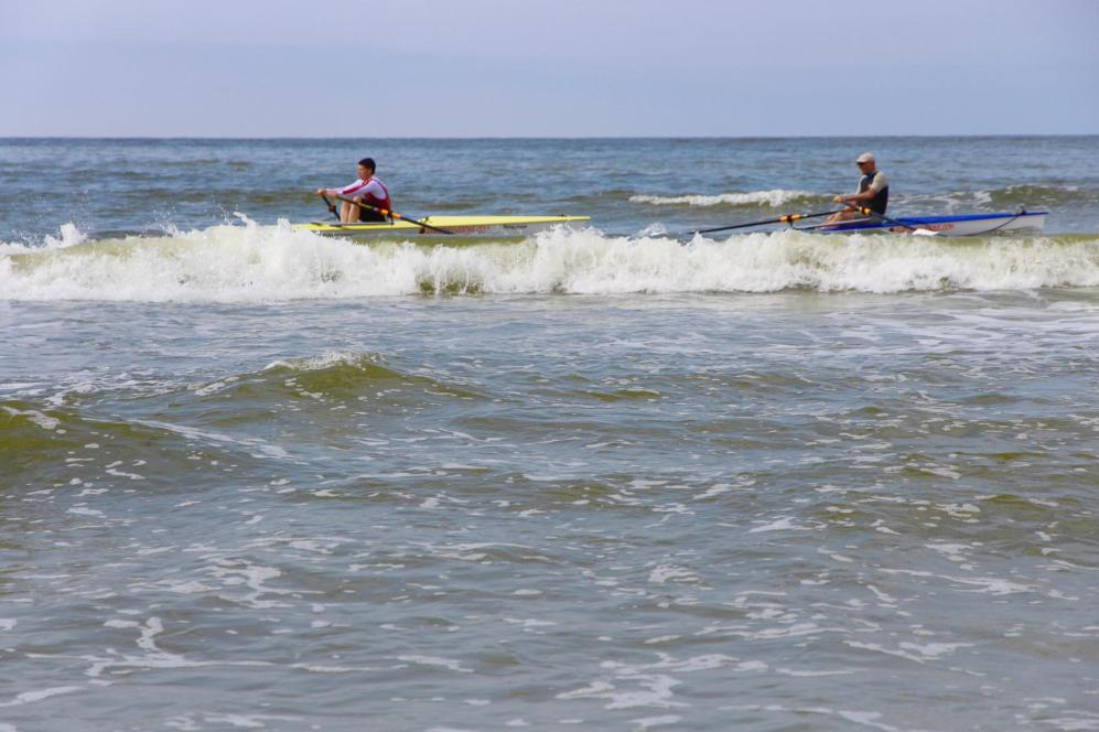 Bestes Sommerwetter bei der Premiere der Coastal Rowing Regatta auf Amrum. Fotos: Fast-Sports