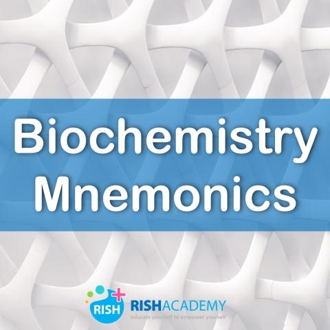 Biochemistry-Mnemonics www.rishacademy.com