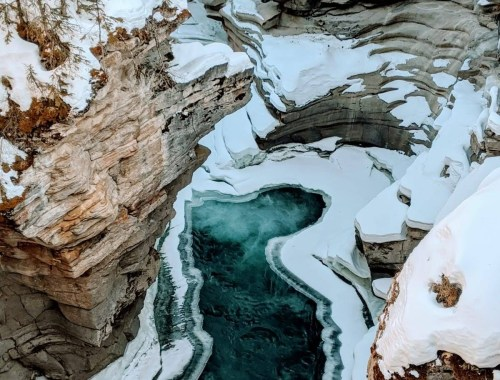 Jasper National Park in Winters