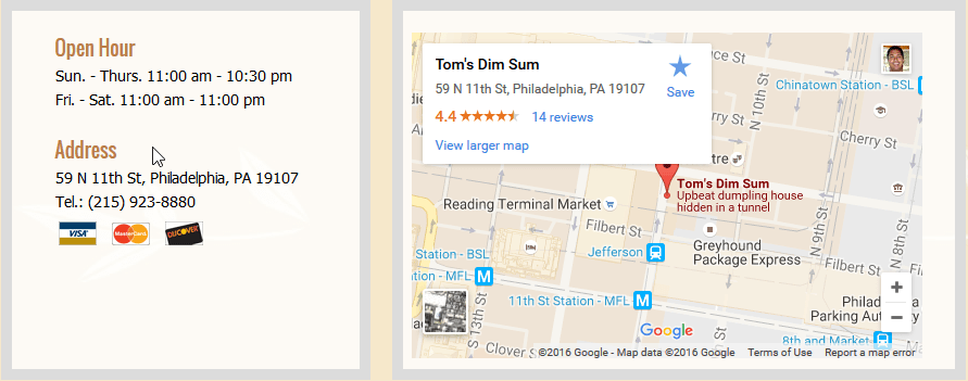 2016-08-10 17_53_15-Tom's Dim Sum Chinese Restaurant, Philadelphia, PA 19107, Online Order, Take Out