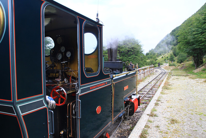 At the End of the World train in Ushuaia ... # ...