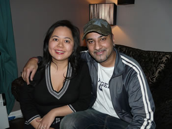 Bally Sagoo and Angela Ang