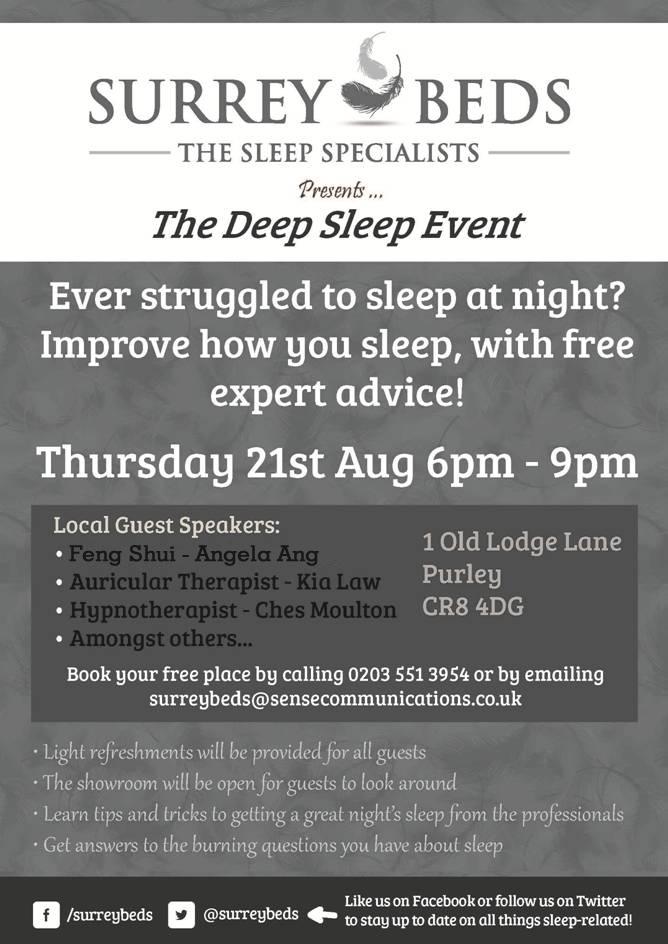 Surrey Beds Sleep Seminar