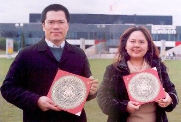 Eddie Lui and Angela Ang Feng Shui audited Birmingham NEC