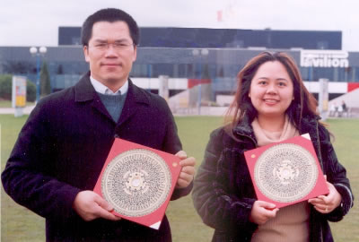 Eddie Lui and Angela Ang Feng Shui audited Birmingham NEC