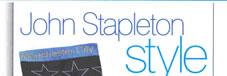 John Stapleton style feature in TV Quick Magazine