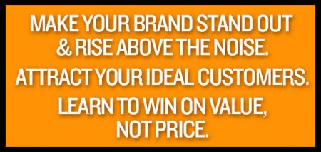 Rise above the noise. Attract ideal customers.