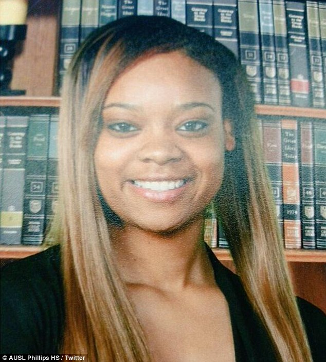Overcoming the odds: The senior at Wendell Phillips Academy High School was homeless in grade school and learned that she was pregnant when she was in eighth grade