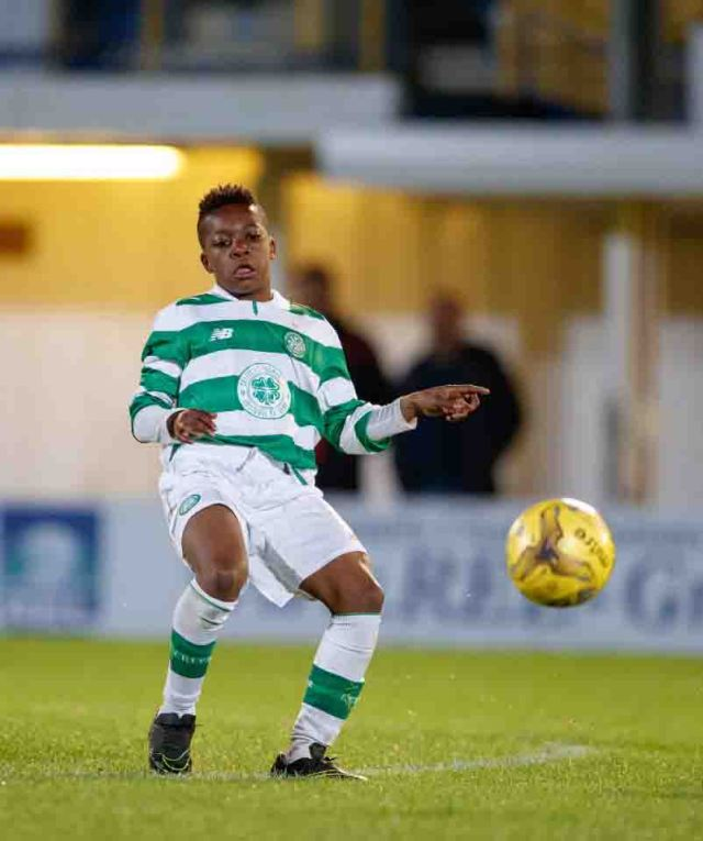 03.10.2016 Celtic v Hearts, SPFL Development League ............. KARAMOKO KADER DEMBELE