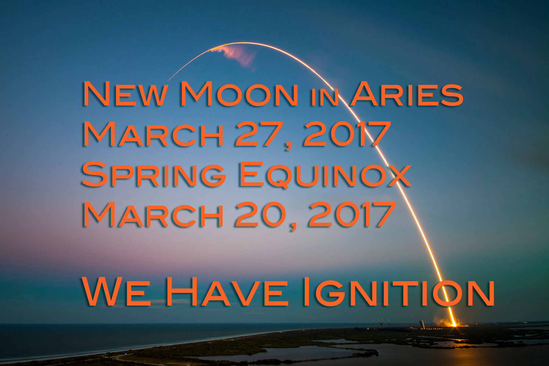 New Moon in Aries & Equinox: We Have Ignition