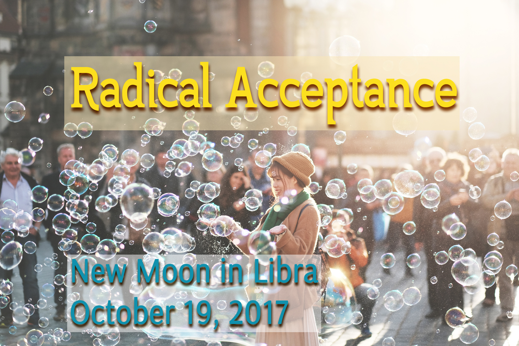 New Moon in Libra: Radical Acceptance