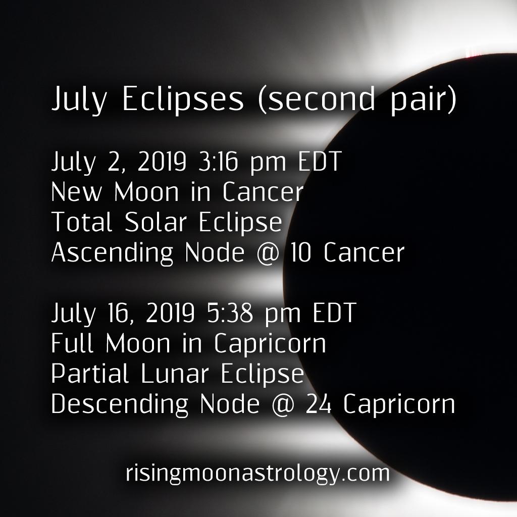 July Eclipse Season