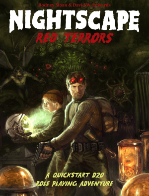 Nightscape: Red Terrors RPG Cover