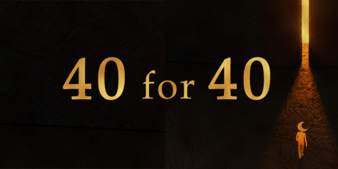 40 for 40 promotional image