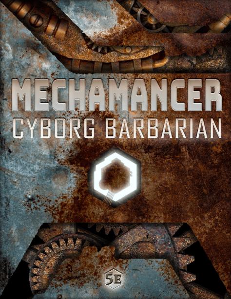 Mechmancer Cover