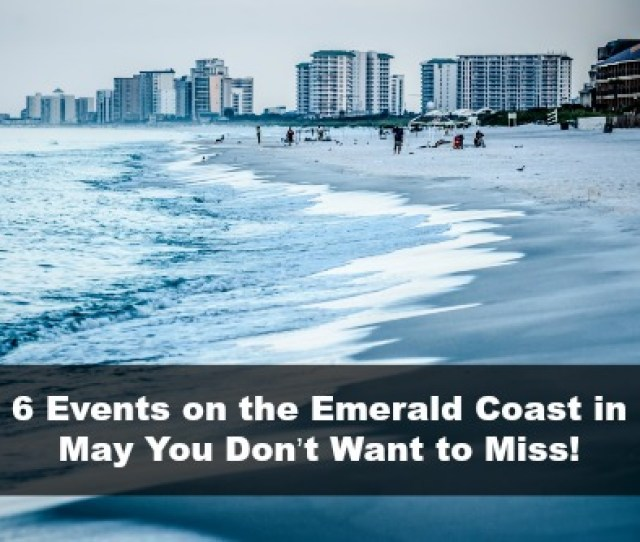 Water Life And Beach Scenes At Destin Florida