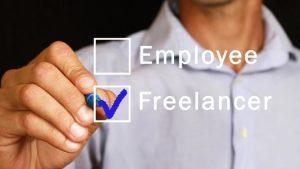 freelancer get a full time job