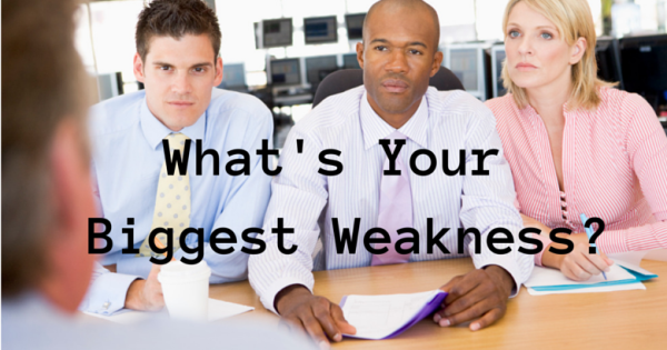 what u0026 39 s your biggest weakness  and other interview traps