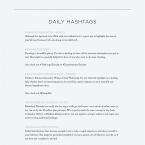 The 4 Types of Hashtags