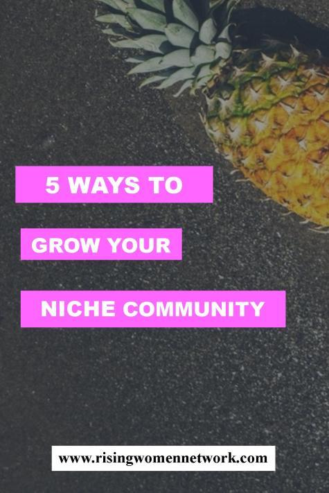 niche community