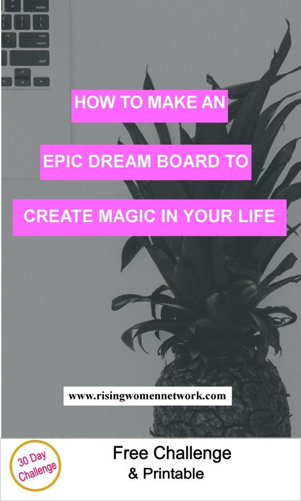Dream board is one of the most powerful and fun success tools you'll ever find. I can't recommend them highly enough to inspire and motivate you.