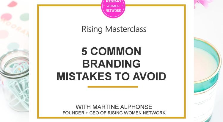 The design of a website or advertisement impacts our initial impression of a business.In this episode I'm discussing the 5 common branding mistakes to avoid