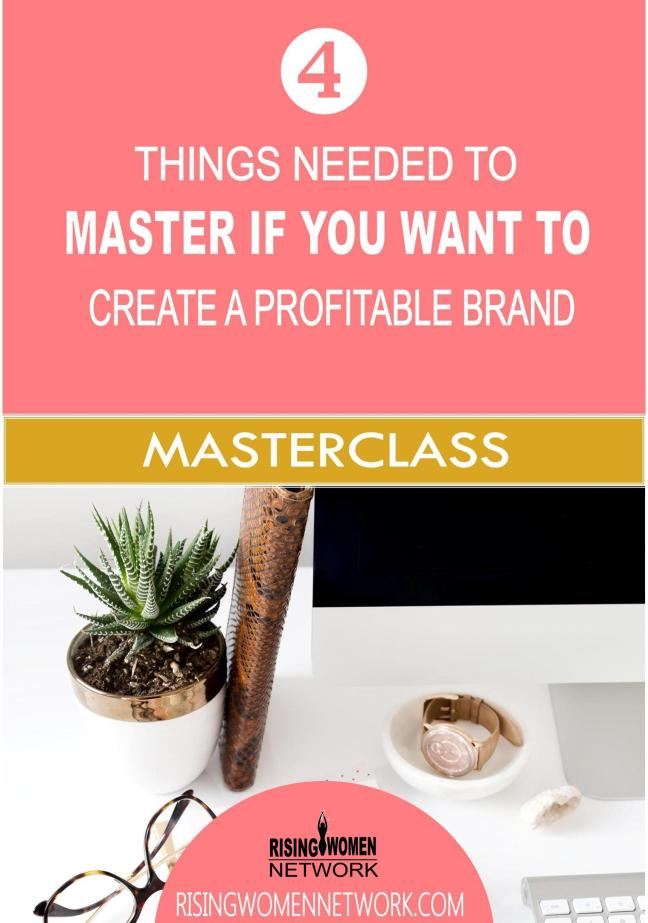 Your branding is how people recognize and relate to you.If your brand doesn't connect with your audience you'll have a tough time growing your business.