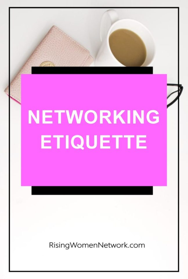 When the day comes when you'd like to promote your new project. How can you ask your friends to help without fear? Here's a few Networking Etiquette tips.