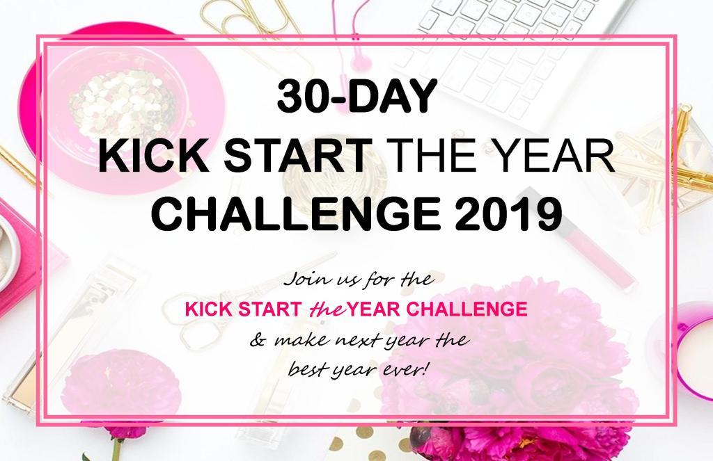 30 Day Kick Start The Year Challenge 2019 Rising Women Network