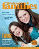 Montreal Families Magazine November 2012 cover