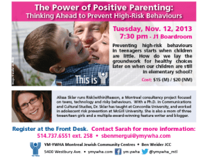 Power of Positive Parenting flyer