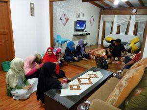 De Ranch Bandung - Suasana di Vila bersama