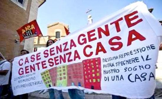 a Roma movimenti per la lotta per la casa