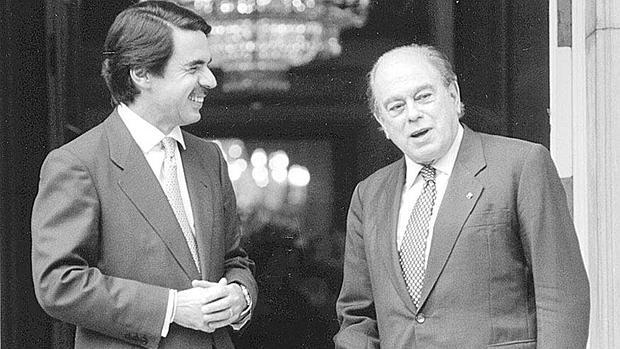 L'alleanza conservatrice Aznar-Pujol