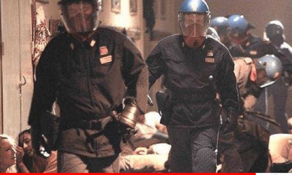 GB Genova: alla Diaz le prove generali della repressione
