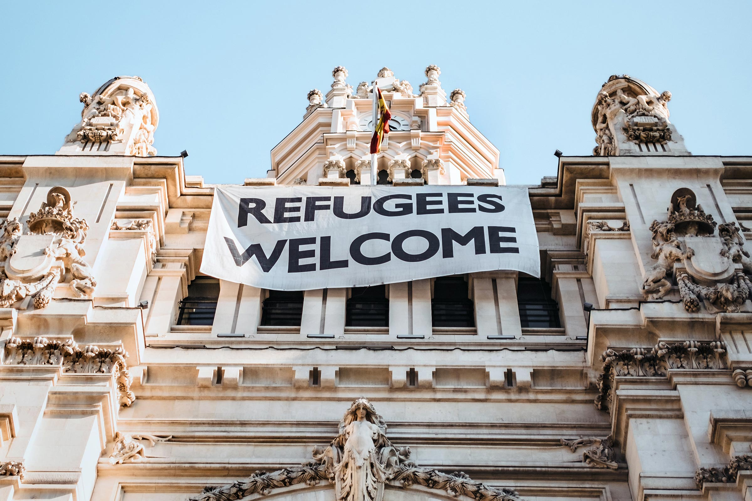 Refugees Welcome Picture