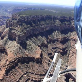 Helikoptertur over Grand Canyon