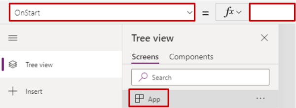 Tree View within Power Apps.