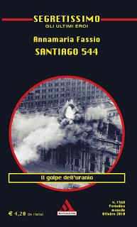 La copertina dell'ultimo romanzo di Annamaria Fassio