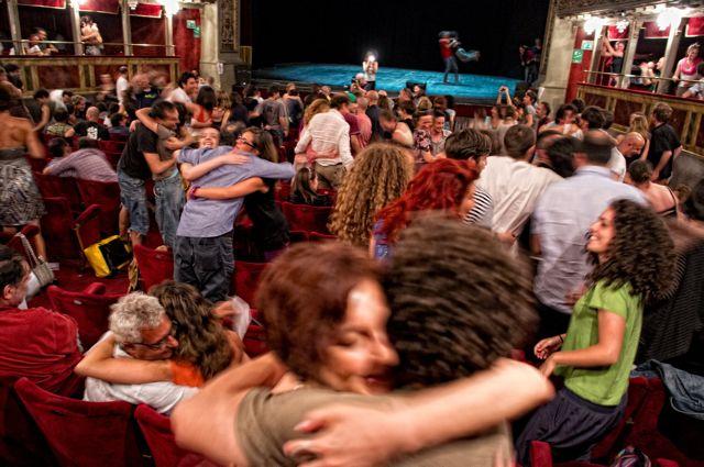 L'occupazione del Teatro Valle di Roma: storia fotografica