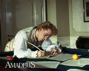 Amadeus: un'immagine del film di Milos Forman