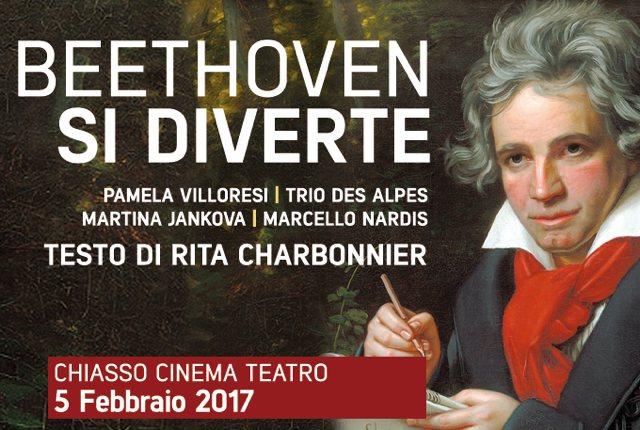 Beethoven si diverte: la locandina
