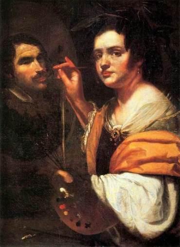 Artemisia Gentileschi, autoritratto