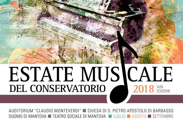Logo Estate Musicale 2018   Conservatorio di Mantova