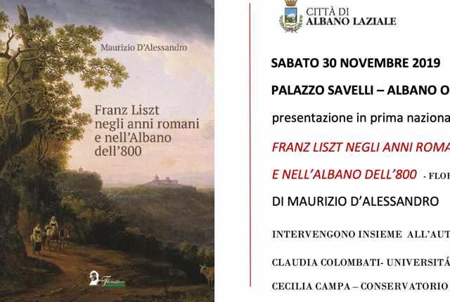 «Franz Liszt negli anni romani e nell'Albano dell'800»