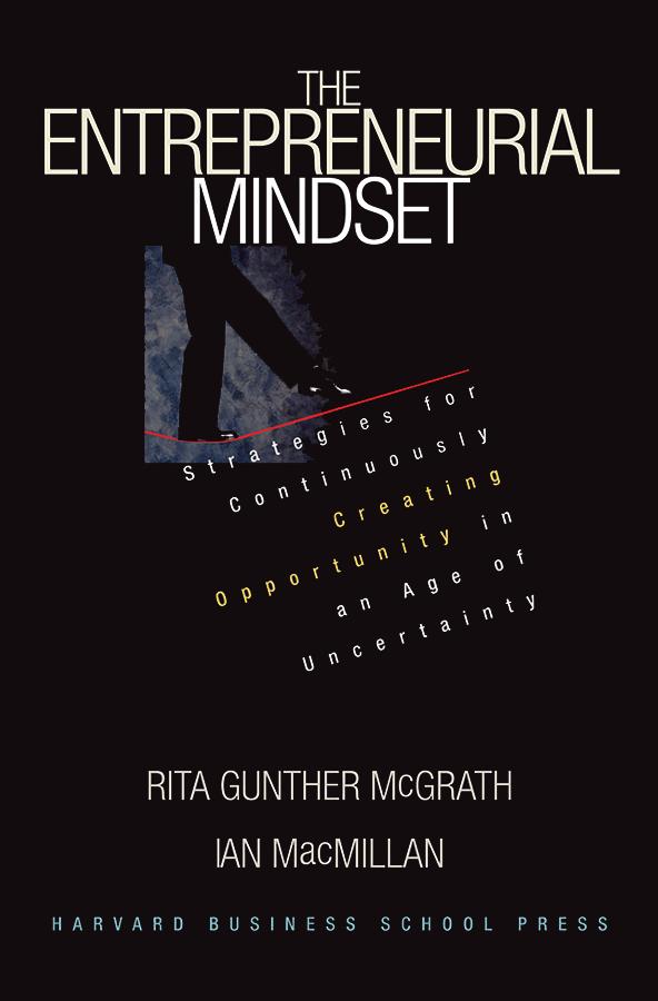 The Entrepreneurial Mindset