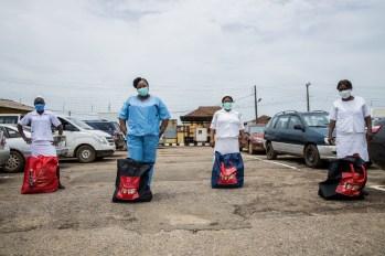 Food relief package to General Hospital, Ijebu Ode 3